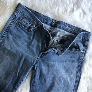 7 for all Mankind • Light-wash Crop Denim